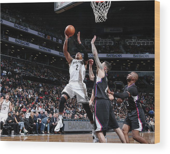 Nba Pro Basketball Wood Print featuring the photograph Randy Foye by Nathaniel S. Butler