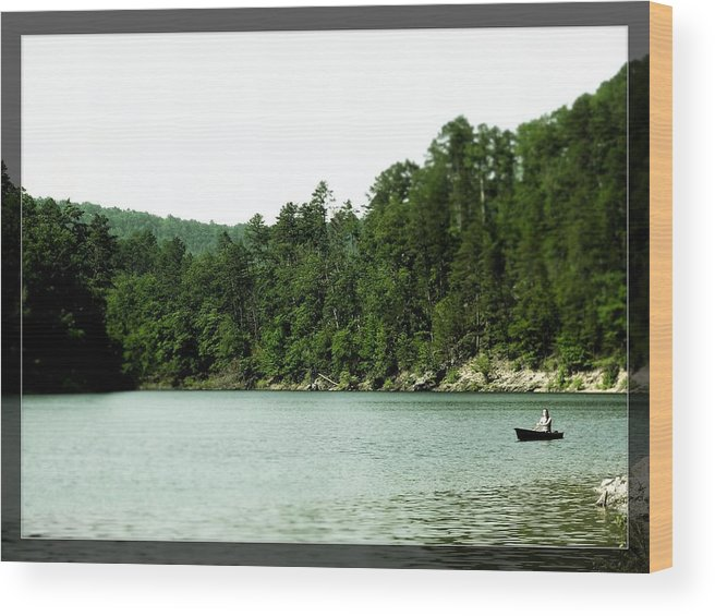 Lake Wood Print featuring the photograph Photograph by Anandi Godse