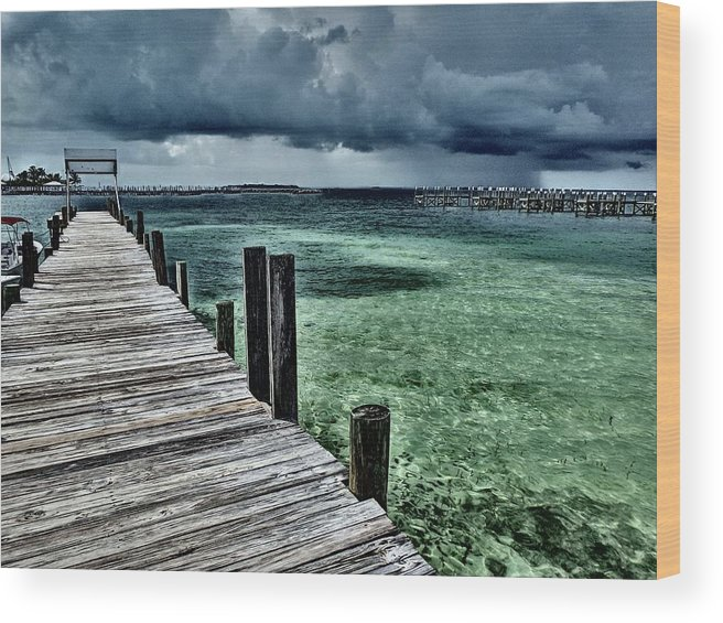 Caribbean Wood Print featuring the photograph Abaco Islands, Bahamas by Cindy Ross