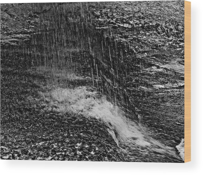 Falls Wood Print featuring the photograph Lava Falls by Michael Bessler