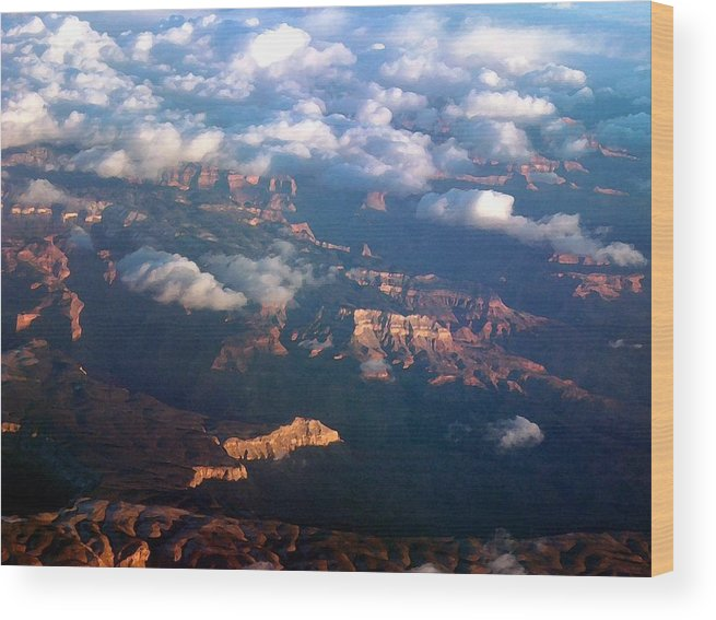 Grand Canyon Wood Print featuring the photograph Magnificent Grand Canyon by Janet Hall