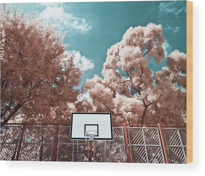 Tranquility Wood Print featuring the photograph Digital Infrared Photos by Terryprince