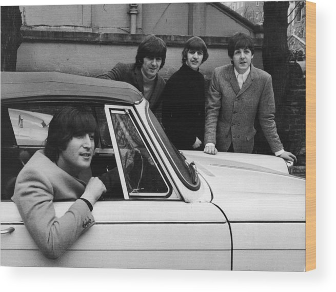 Rock Music Wood Print featuring the photograph Street Legal Beatle by Express Newspapers