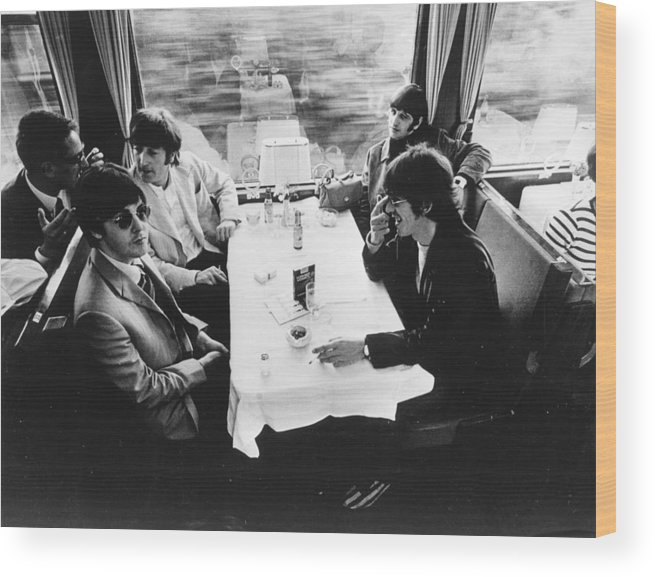 People Wood Print featuring the photograph Touring By Train by Keystone Features