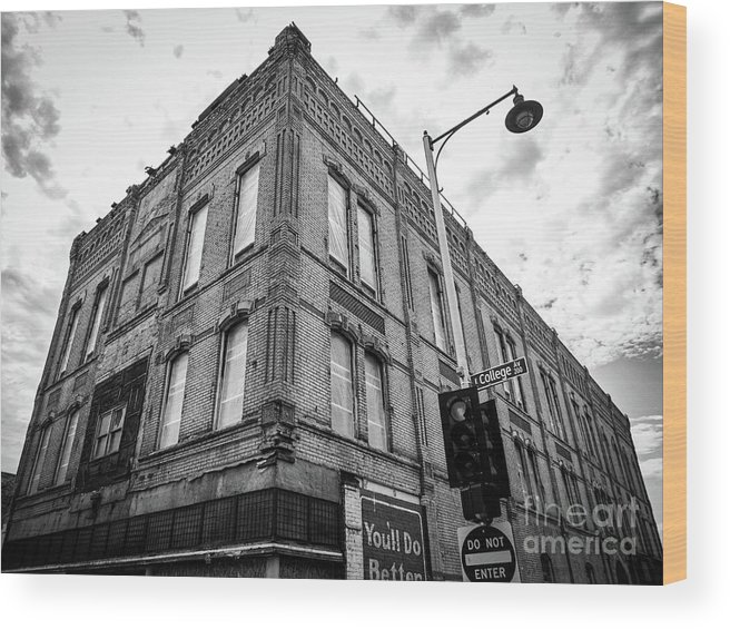 Appleton Wood Print featuring the photograph Unearthed Appleton History by Ever-Curious Photography