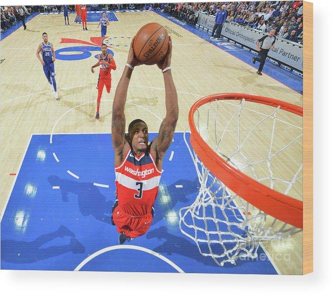 Nba Pro Basketball Wood Print featuring the photograph Bradley Beal by Jesse D. Garrabrant