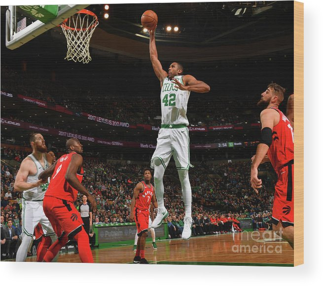 Nba Pro Basketball Wood Print featuring the photograph Al Horford by Jesse D. Garrabrant