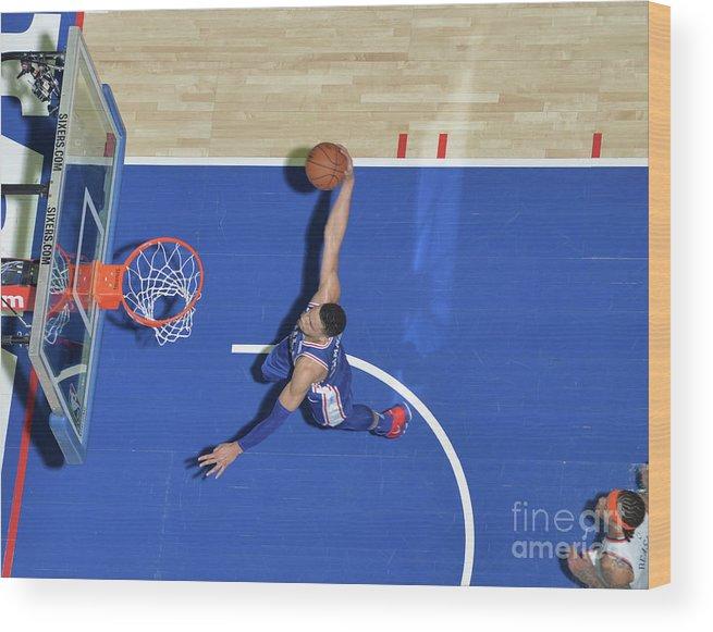 Sports Ball Wood Print featuring the photograph Ben Simmons by Jesse D. Garrabrant