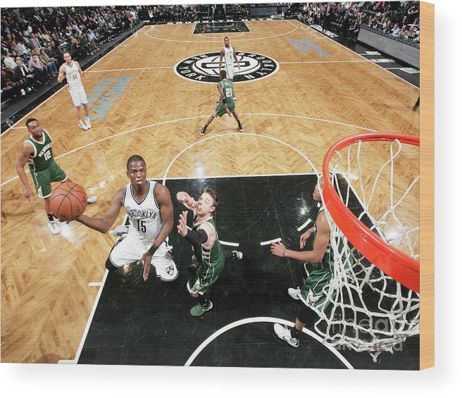 Nba Pro Basketball Wood Print featuring the photograph Isaiah Whitehead by Nathaniel S. Butler