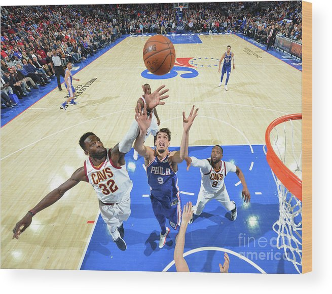 Nba Pro Basketball Wood Print featuring the photograph Jeff Green by Jesse D. Garrabrant