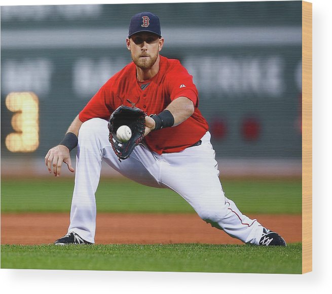 American League Baseball Wood Print featuring the photograph Wills by Jared Wickerham