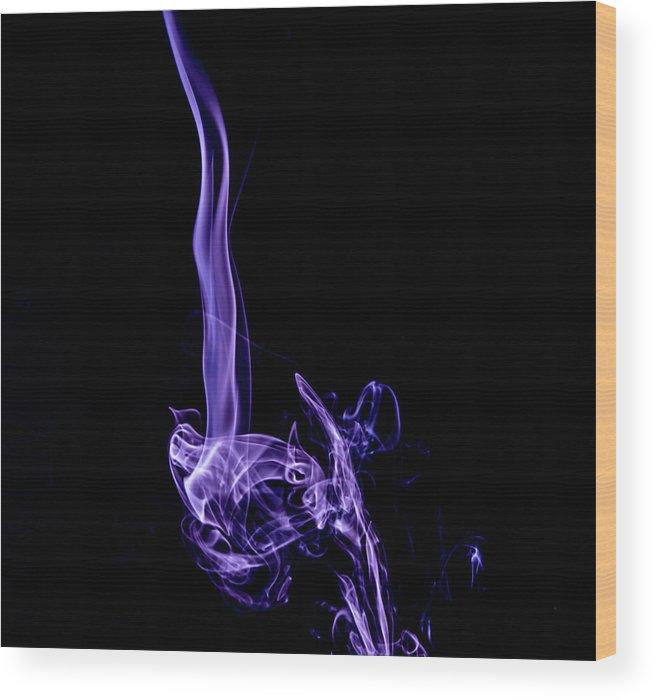 Fine Art Wood Print featuring the photograph Inter Stellar by Peyton Vaughn
