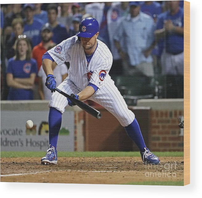 People Wood Print featuring the photograph Jon Lester by Jonathan Daniel