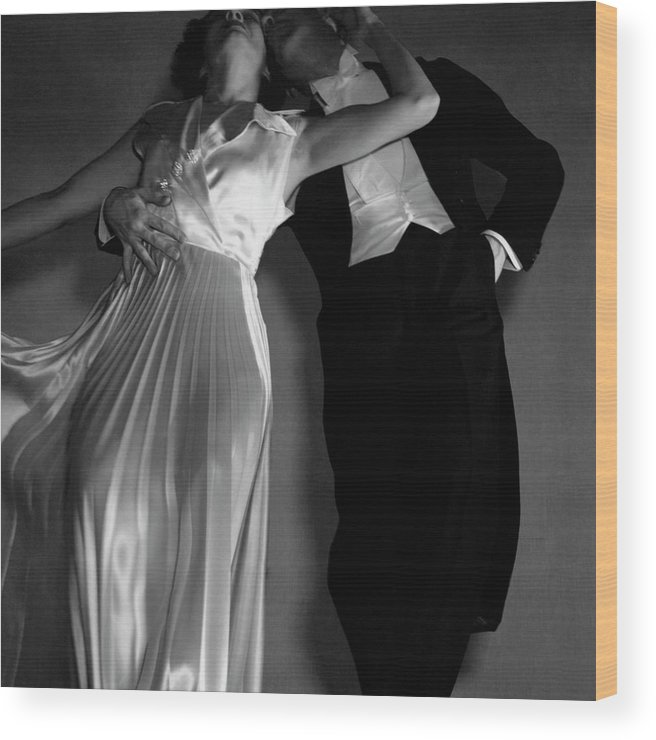 Dance Wood Print featuring the photograph Grace And Paul Hartman by Edward Steichen