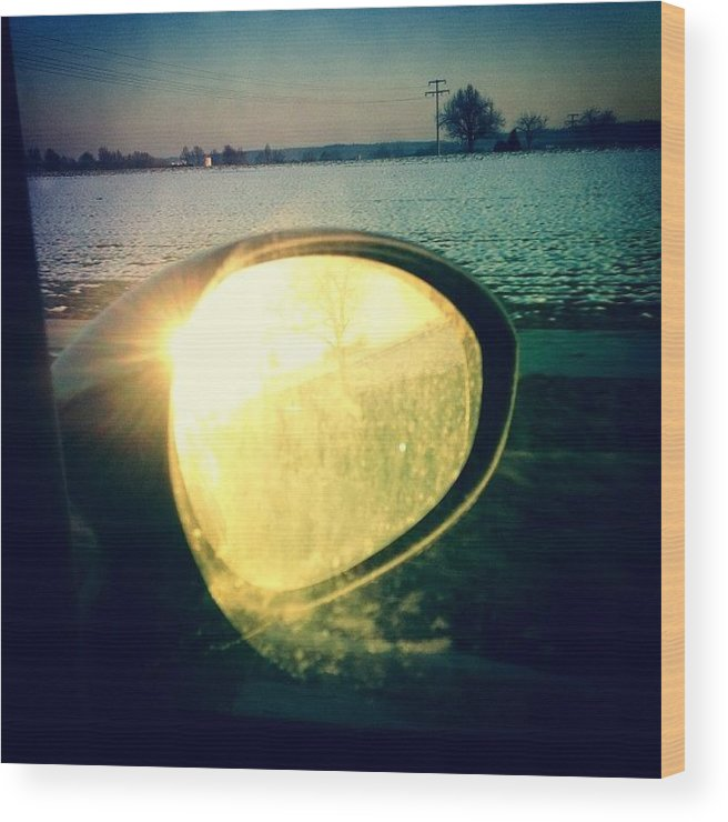 Sun Wood Print featuring the photograph Here comes the sun by Matthias Hauser
