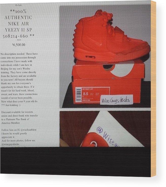 Nike Air Yeezy II #redoctober. These