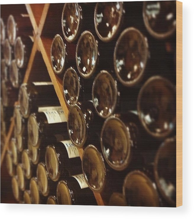 Wine Wood Print featuring the photograph Wine Tour by Christy Beckwith