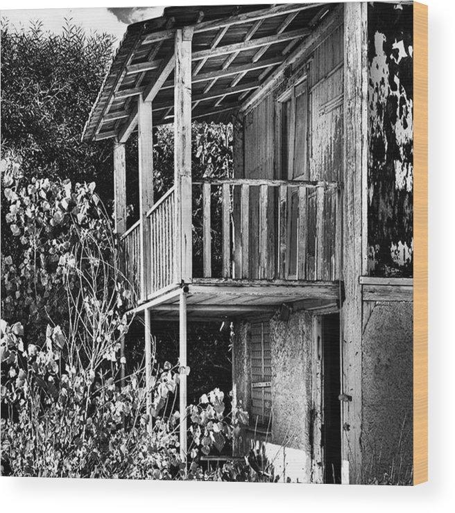 Amazing Wood Print featuring the photograph Abandoned, Kalamaki, Zakynthos by John Edwards