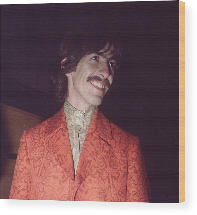George Harrison Wood Print featuring the photograph Nice Jacket George by John Williams