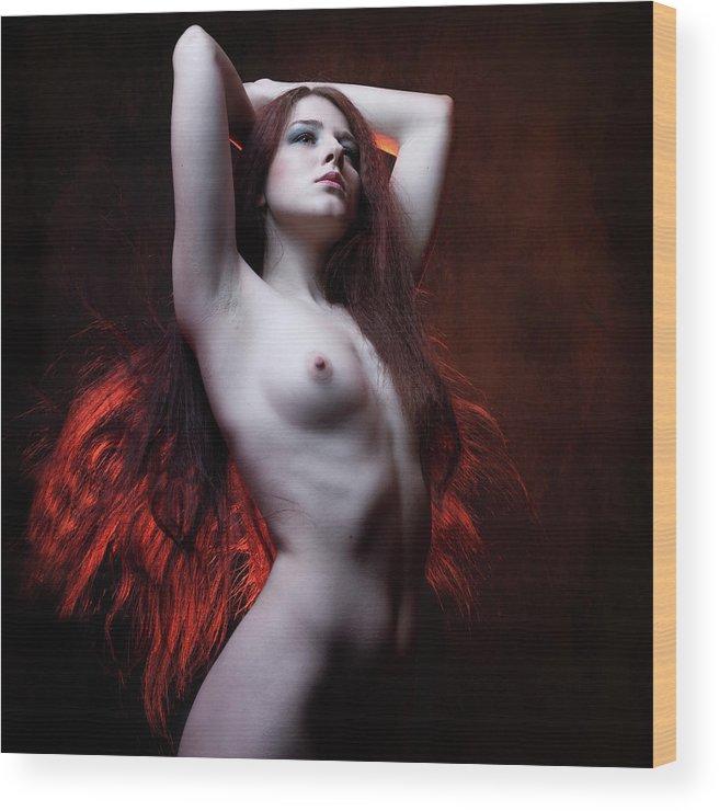 Poland Wood Print featuring the photograph Psyche by Jacek Poprawski