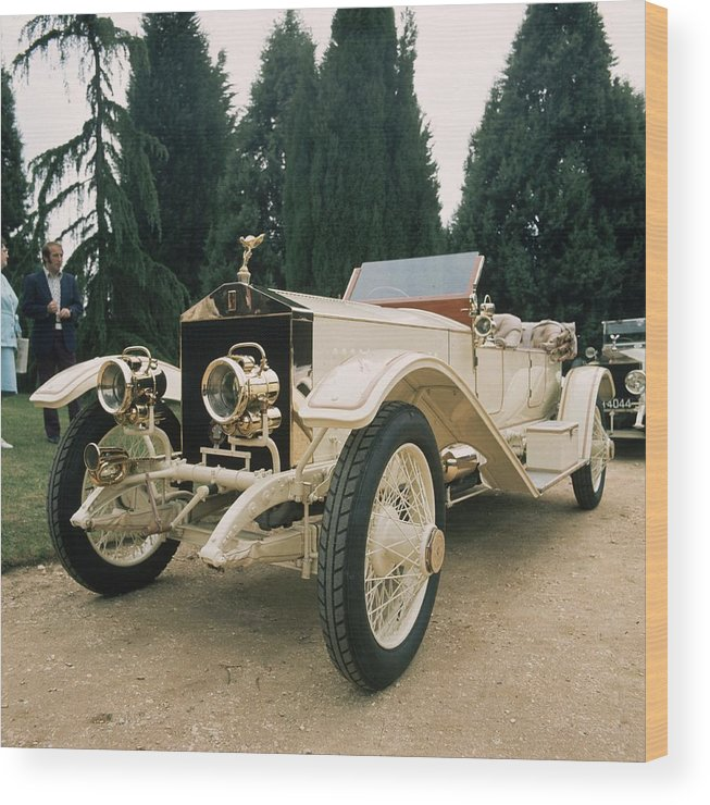 Rolls Royce Wood Print featuring the photograph Rolls Royce by Graham French