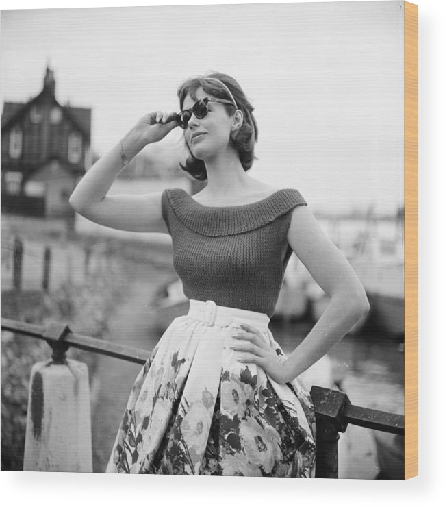 Lifestyles Wood Print featuring the photograph Summer Knitwear by Chaloner Woods