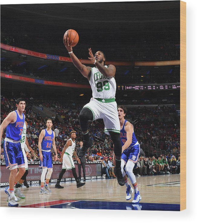Nba Pro Basketball Wood Print featuring the photograph Jae Crowder by Jesse D. Garrabrant