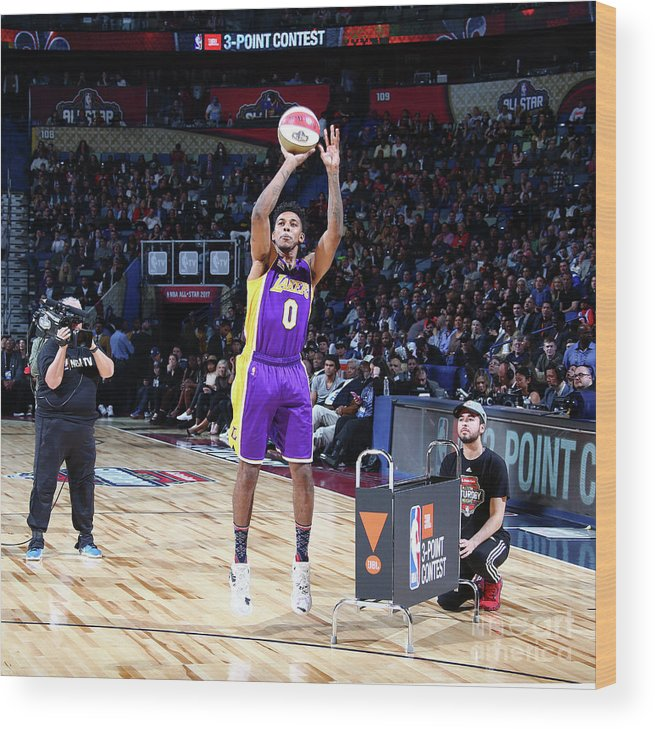 Event Wood Print featuring the photograph Nick Young by Nathaniel S. Butler