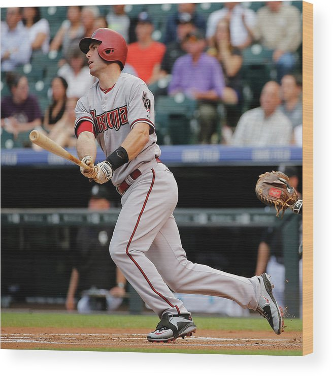 People Wood Print featuring the photograph Paul Goldschmidt by Doug Pensinger