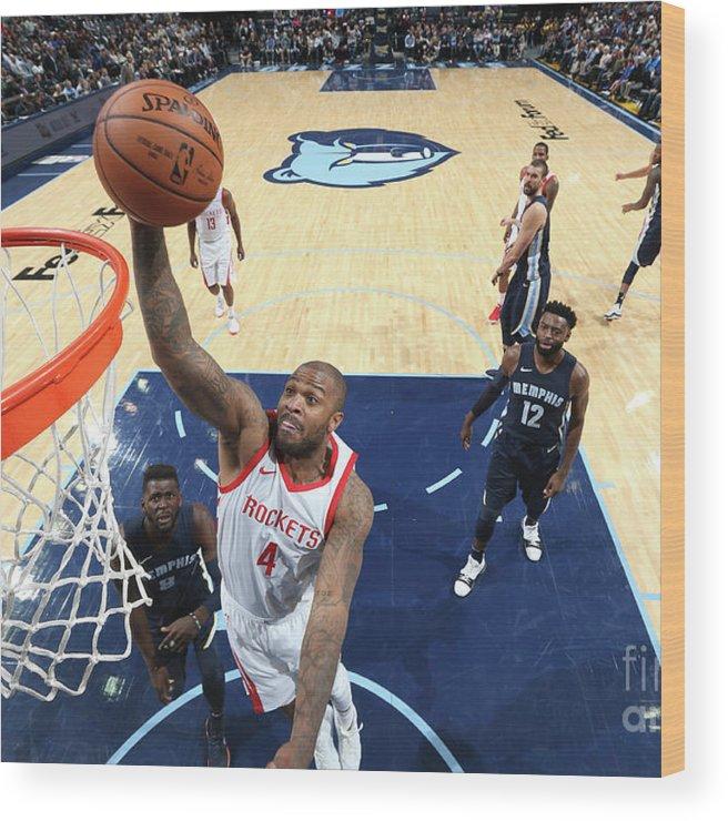 Nba Pro Basketball Wood Print featuring the photograph P.j. Tucker by Joe Murphy