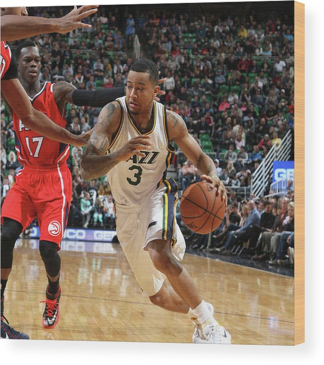 Sport Wood Print featuring the photograph Trey Burke by Melissa Majchrzak