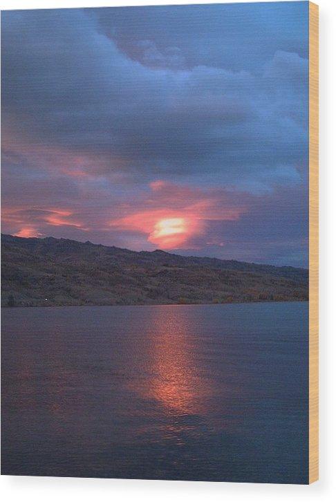 Suning Sunrise Wood Print featuring the photograph Morning Sunrise by Joyce Woodhouse
