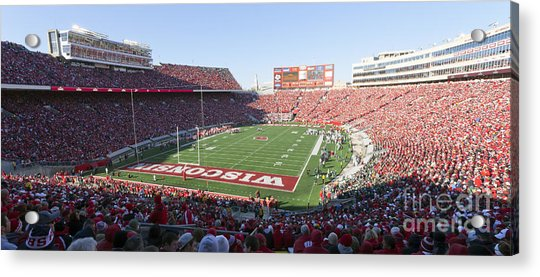 0251 Camp Randall Stadium - Madison Wisconsin Acrylic Print