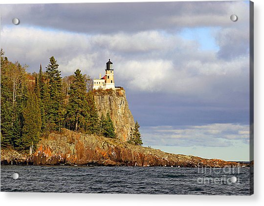 0376 Split Rock Lighthouse Acrylic Print