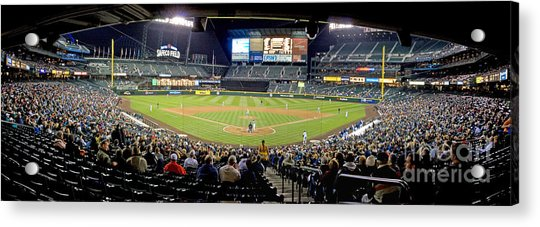 0434 Safeco Field Panoramic Acrylic Print