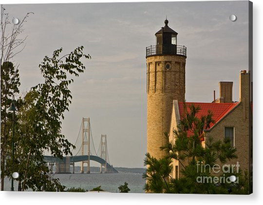 0558 Old Mackinac Point Lighthouse Acrylic Print