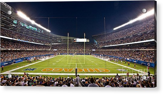 0587 Soldier Field Chicago Acrylic Print