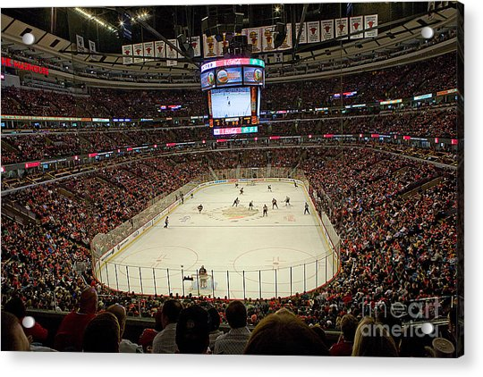 0616 The United Center - Chicago Acrylic Print