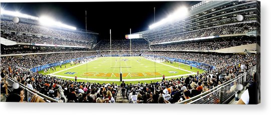 0856 Soldier Field Panoramic Acrylic Print