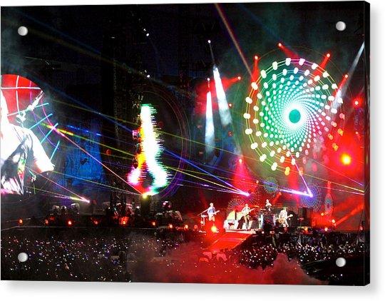 Coldplay - Sydney 2012 Acrylic Print
