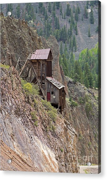 Commodore Mine On The Bachelor Historic Tour Acrylic Print