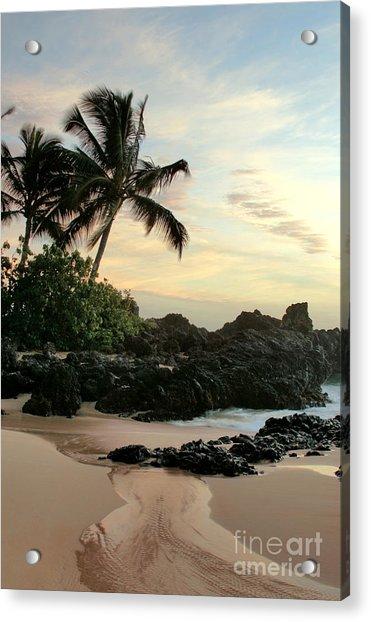 Edge Of The Sea Acrylic Print