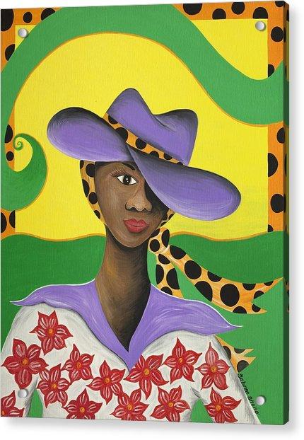 Hat Appeal Acrylic Print