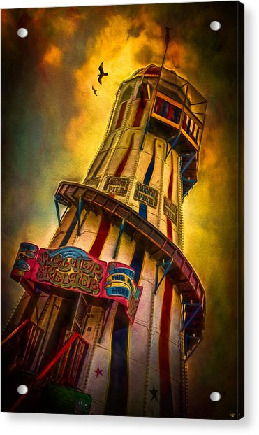 Acrylic Print featuring the photograph Helter Skelter by Chris Lord