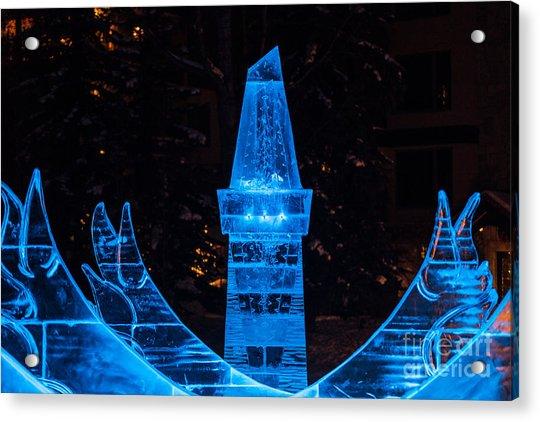 Ice Tower Acrylic Print
