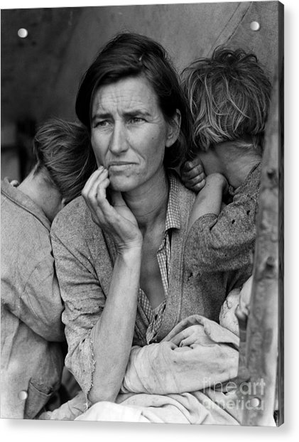 Migrant Mother Acrylic Print