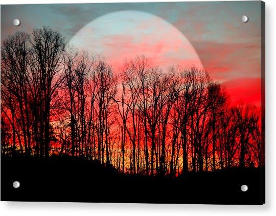 Moon Dance Acrylic Print