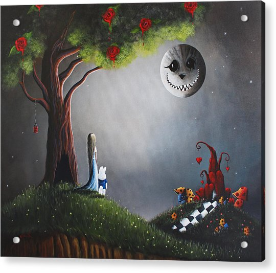 Alice In Wonderland Original Artwork Acrylic Print