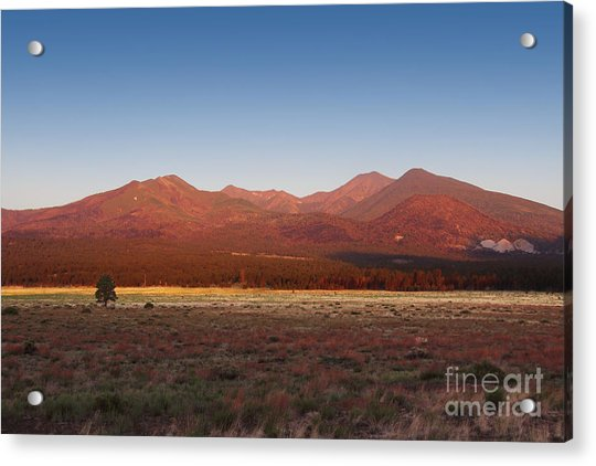 Acrylic Print featuring the photograph San Francisco Peaks Sunrise by Jemmy Archer