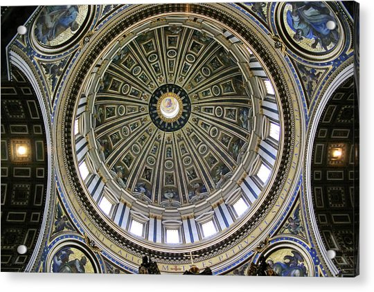 St. Peter's Basilica Dome Acrylic Print